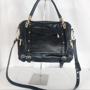 Rebecca Minkoff Cupid Black Satchel Purse Bag